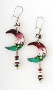 Tumi Inca ceramic bead earrings