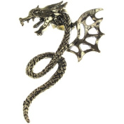 Jewellery of Lords D10 Talking Whispering Friendly Dragon Ear Cuff Gothic Reptile Wrap Earring