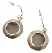 Ladies fashion earrings small round design IAS393