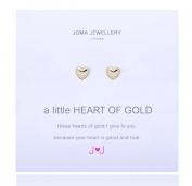 A little Heart Of Gold Earrings By Joma jewellery