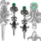 Alchemy Gothic Westenra Spica Pair of Earrings