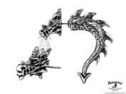 Alchemy Gothic Tor Dragon Faux Ear Stretcher Earring