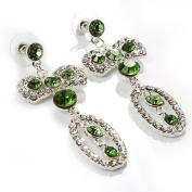Stunning Diamante Bow Earrings