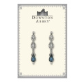 The Downton Abbey Collection Blue Sapphire Jewel Drop Earrings 17501