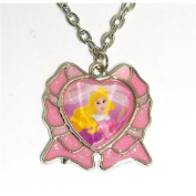 Disney Princess Necklace With Crown Pendant