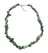 Necklace 45 cm composed of genuine rough agate gemstone