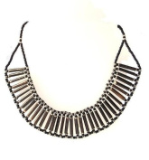 Katangi Handcrafts Porcupine Necklace Curved - Assorted Quills