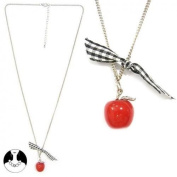 Sg Paris Fashion Jewellery Necklace Teenager Metal+Other Material Red Apple
