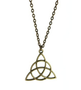 Triquetras (Charmed Symbol) Necklace - Gift Boxed