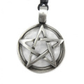 Mystical & Magical Pewter Pentagram Pentacle Gothic Pagan Wiccan Pendant