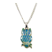 Mood Changing Owl Pendant Necklace