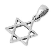 Sterling Silver Pendant - Star of David
