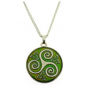 Mood Changing Celtic Trinity Pendant Necklace