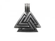 Viking Pagan Pewter Valknut Pendant