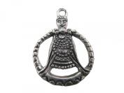 Viking Pagan Pewter Freya Goddess of Love Pendant