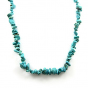 MGD, Turquoise 80cm Single Strand Blue Necklace, Fashion Jewellery for Women, Teens and Girls , JB-0022