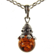 Baltic amber and sterling silver 925 designer cognac pendant jewellery jewellery