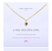 A Little Golden Girl Necklace By Joma Jewellery