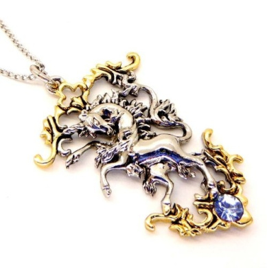 The Last Unicorn Pendant Necklace