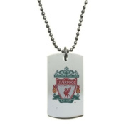 LIVERPOOL F.C. COLOURED CREST DOG TAG