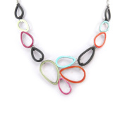"""Necklace 'french touch' """"Coloriage"""" tutti frutti."""
