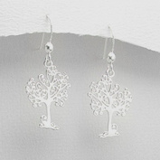 Sterling Silver Fairytale Tree Earrings
