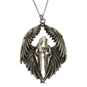 Prayer For The Fallen Angel Pendant Necklace