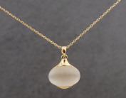 Quality Moonstone Necklace Gold Chain
