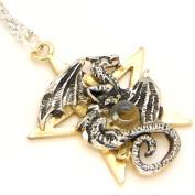 Forbidden Dracogram Dragon Pendant Necklace