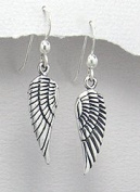 Sterling Silver Bird Wing Earrings