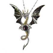 Celestial Dragon Sterling Silver 925 Pendant Necklace