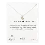 Dogeared Silver Life is Magical Unicorn Necklace