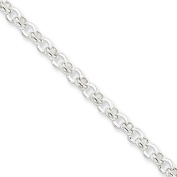 Black Bow Jewellery Company : 4mm, Sterling Silver, Rolo Chain, 16 Inches