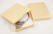 Cotton Filled Gold Linen Multi Purpose Necklace Sets Box - BD65 from 0 49 each