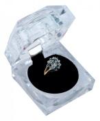 Crystal look Ring Box