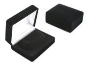 1 x Luxury Black Velvet Bangle/Bracelet Box