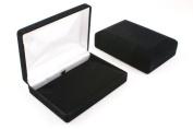 1 x Luxury Black Velvet Necklace Box