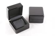 1 x Premium Glossy Ebony Series Wooden Earring Box