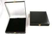 Antique Style Black Leatherette Necklace/Sets Box
