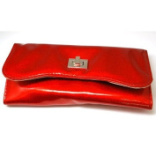 MELE Red Glitter Jewellery Travel Purse