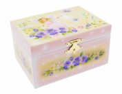 Mele & Co Childrens Musical Violet Jewellery Box