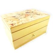 "Jewellery box wood ""Erica"" brown."