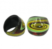 hand blown glass Ring (54)