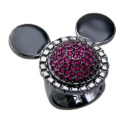 Mawi for Disney Couture Hematite Crystal Ring