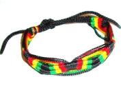 Rasta / Hippie / Reggae Woven Wrist tie / Wristband Bracelet - Best Sellers