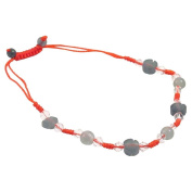 Jade Circle Bracelet - Red String