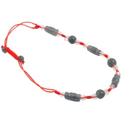 Jade Tube Bracelet - Red String