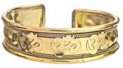 OM (AUM) Gold Plated Bracelet - Copper Alloy