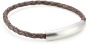 Police Close Brown Weave Unisex 210mm Wristband