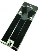 Black Braces 3 cm wide
